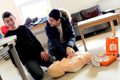 Ungdomsklubber uddanner førstehjælpere