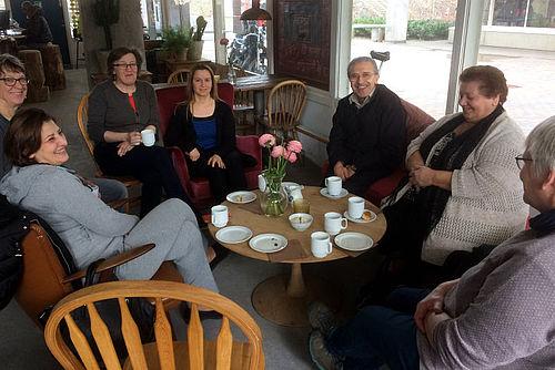 Ny cafe kommer nye beboere i møde
