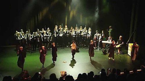 Arabiske toner og dansere i Dokk1