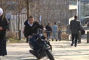 Ulovlige motorcykler og knallerter