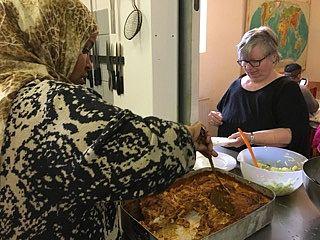 Fra lasagne til a'la Sambusa i Folkekøkkenet