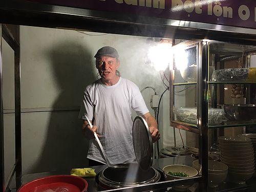 Lars var i Vietnam for at lære at lave mad