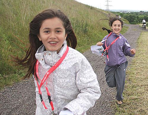 Løb for Livet blev ramt af dårligt vejr