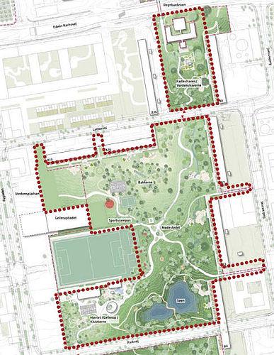 Lokalplan – men kun for en del af byparken