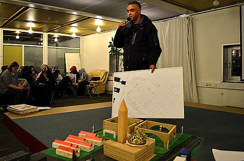 Samvirkemøde med workshop om mosképrojektet