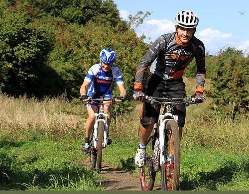 Mountainbike-rute indvies i Hasle Bakker