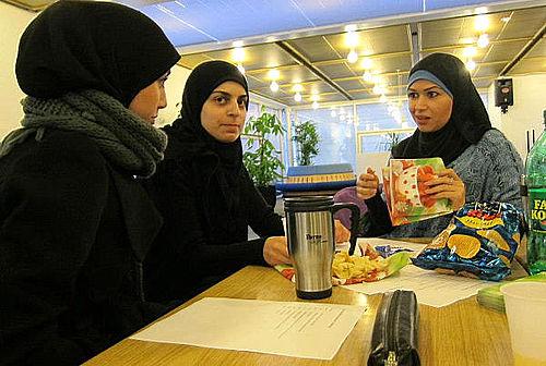 Unge i Gellerup diskuterer fremtiden