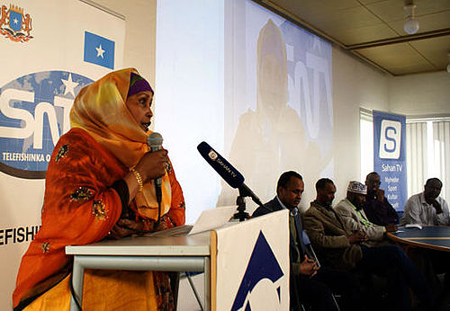 Somaliske børn og unge til debat