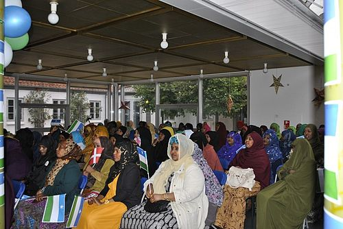 Somaliere festede for Puntland