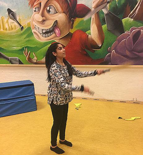 Sally – en ung cirkusartist