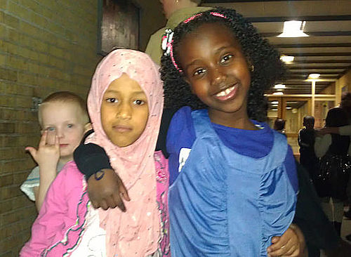 Stemning, fest og fælleskab på skolen