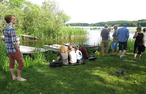 Sommerstemmer ved søen