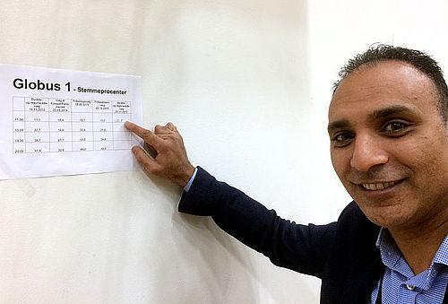 Stemmeprocenten steg i Gellerup