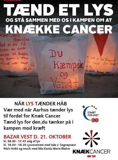 Tænd et lys og spis i kampen mod kræft