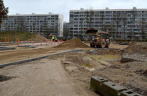 Ny spærring på Gudrunsvej