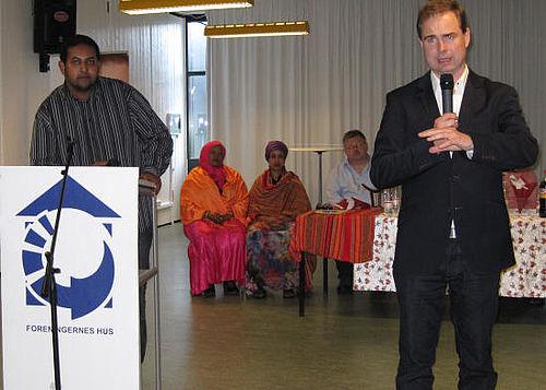 Wammen høster stemmer hos somaliere