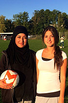 Piger der brænder for fodbold