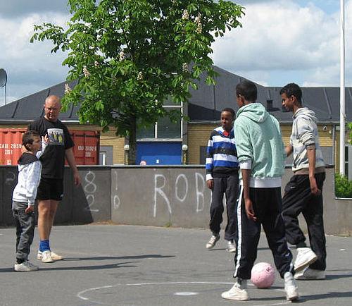 Der skal også spilles fodbold i Herredsvang