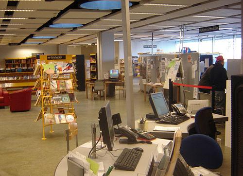 Masser af chips på Gellerup bibliotek