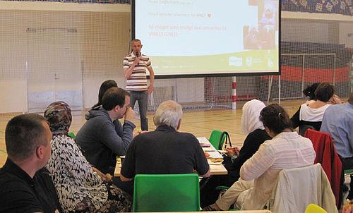 Få fremmødte til workshop om beboerhuse og grønne områder