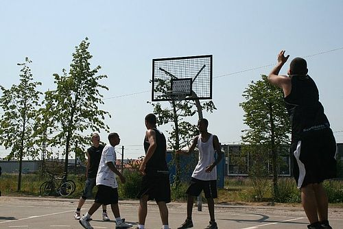 Træn street basket ved Klubberne