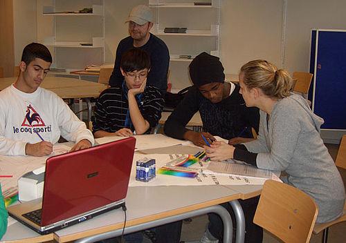 Unge borgerjournalister formidler helhedsplanen