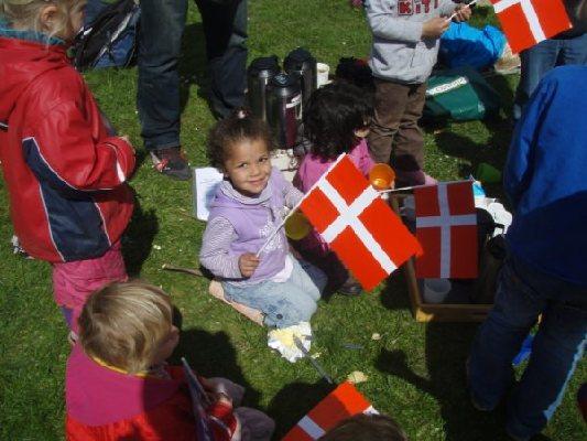 Mor og børn lærer hinanden dansk