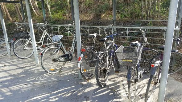 Cykeloprydning på Toveshøj