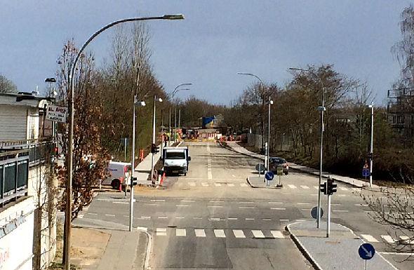 Den første del af Gudrunsvej Syd er færdig