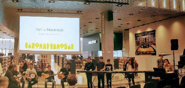 Nye elever spillede fejlfrit på Dokk1