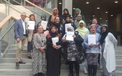 Intense kursusdage venter 14 kommende bydelsmødre