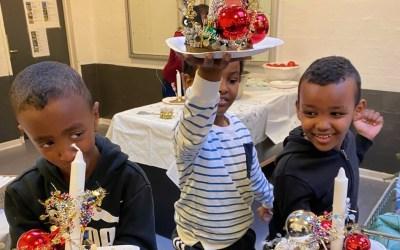 Familienetværket sørgede for corona-sikker julehygge