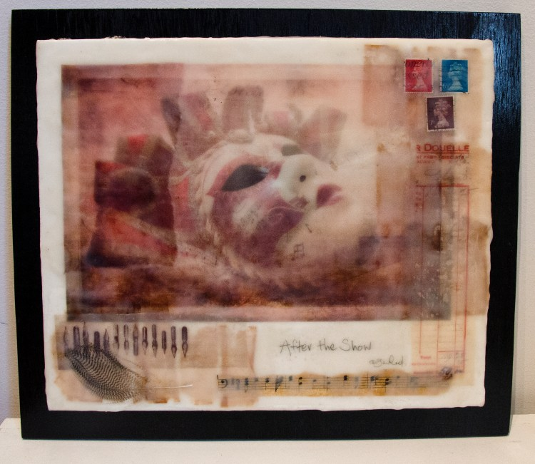 After the Show - Photo Encaustic & Mixed Media