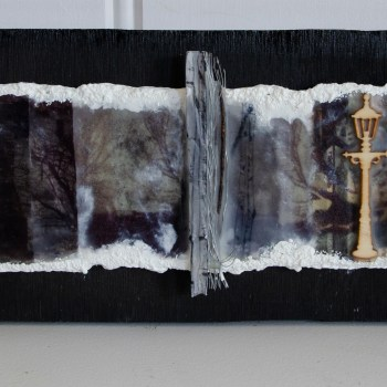 Experimental Panel 3 - Photo Encaustic and Mixed Media
