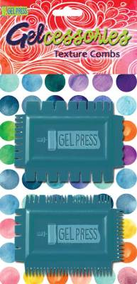 Gel Press Texture Combs