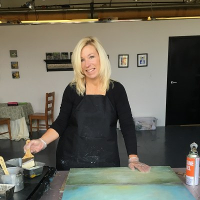 Gel Press Artist Educator - Shari Replogle