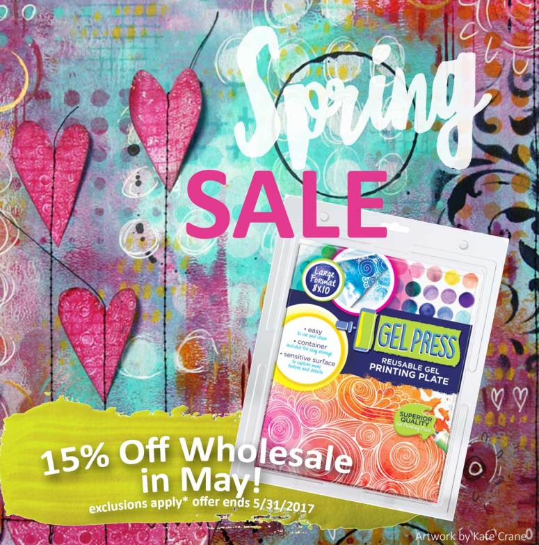 Gel Press Spring 2017 Wholesale Sale