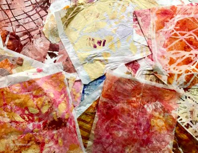 Gel Press Party on your Paper with Trish McKinney
