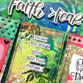 Faith Over Fear: An ATC Gel Press® Project