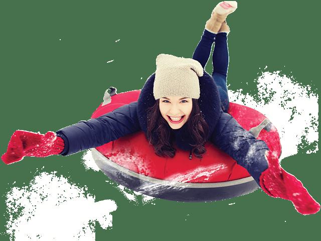 girl-snow-tubing