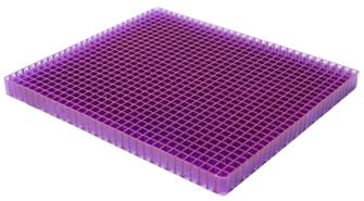 Portable Purple Gel Seat Cushion