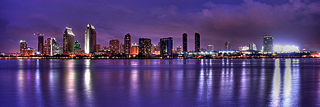 San Diego skyline - picture by peasap (creative commons license)