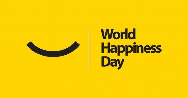 world happiness day - internationale dag van het geluk