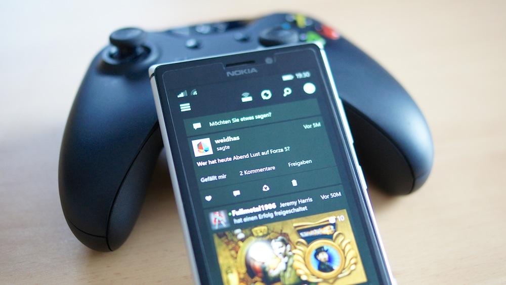 Social Gaming Networks - Xbox One Smartglass