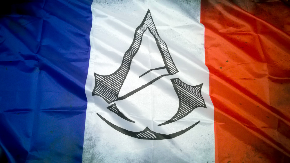 Assassin's Creed Unity - Franzözische Flagge