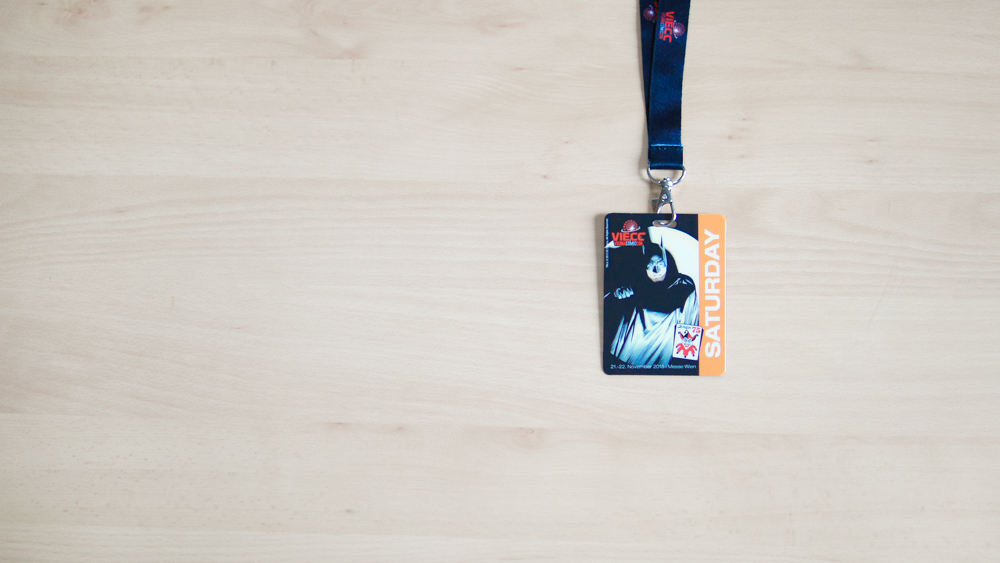 VIECC Vienna Comic Con 2015 - Saturday Badge