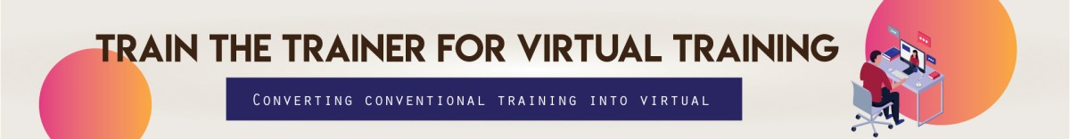 train the trainer for virtual training