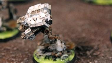Epic Armageddon - Warhound Titan side