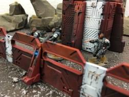Enforcers defend bunker