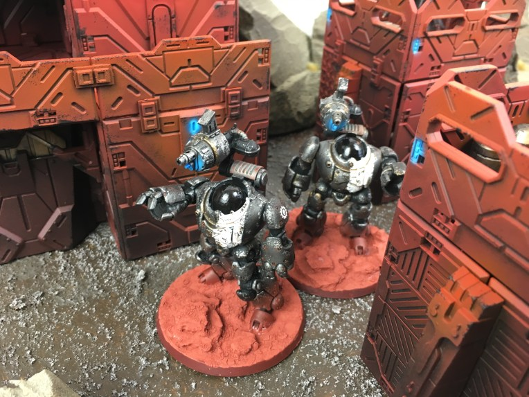 Mechanicum Castellax robots